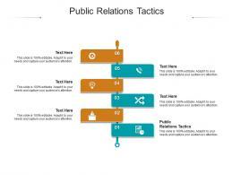Public Relations Tactics Ppt Powerpoint Presentation Styles Design Inspiration Cpb