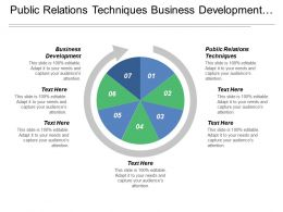 Public Relations Techniques Business Development Employee Strategies Information Technology