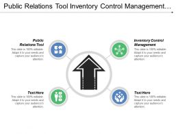 Public Relations Tool Inventory Control Management Project Management