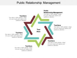 Public Relationship Management Ppt Powerpoint Presentation Pictures Maker Cpb