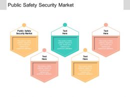 Public Safety Security Market Ppt Powerpoint Presentation Infographic Template Structure Cpb