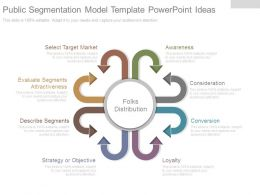 Public Segmentation Model Template Powerpoint Ideas