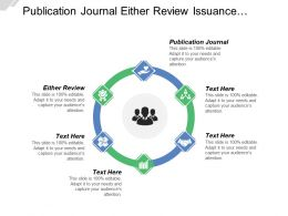 Publication Journal Either Review Issuance Examination Report Real Vehicle