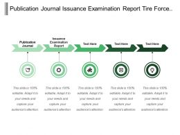 Publication Journal Issuance Examination Report Tire Force Distributor