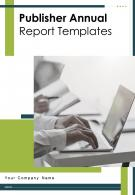 Publisher Annual Report Templates PDF DOC PPT Document Report Template