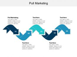Pull Marketing Ppt Powerpoint Presentation Gallery Designs Cpb