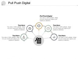 Pull Push Digital Ppt Powerpoint Presentation File Images Cpb