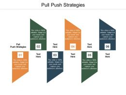 Pull Push Strategies Ppt Powerpoint Presentation Model Graphics Tutorials Cpb