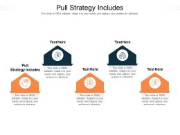 Pull Strategy Includes Ppt Powerpoint Presentation Layouts Design Ideas Cpb