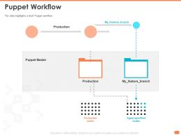 Puppet Workflow Nodes Slide Ppt Powerpoint Presentation Topics