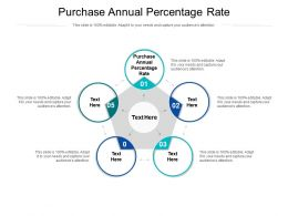 Purchase Annual Percentage Rate Ppt Powerpoint Presentation Show Example File Cpb