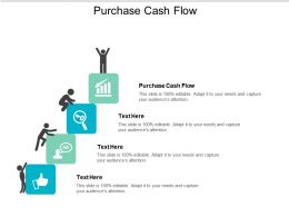 Purchase Cash Flow Ppt Powerpoint Presentation Show Cpb