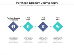 Purchase Discount Journal Entry Ppt Powerpoint Presentation Professional Guidelines Cpb