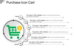 Purchase Icon Cart Template 1