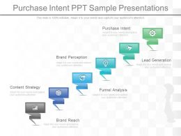 Purchase Intent Ppt Sample Presentations