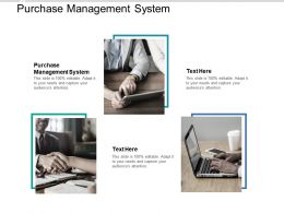 Purchase Management System Ppt Powerpoint Presentation Summary Images Cpb