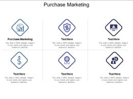 Purchase Marketing Ppt Powerpoint Presentation Infographics Diagrams Cpb