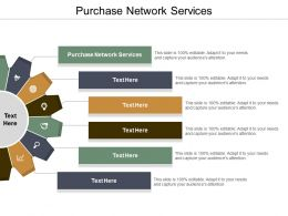Purchase Network Services Ppt Powerpoint Presentation Infographic Template Background Cpb