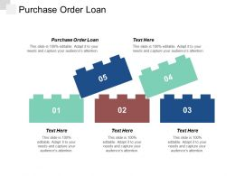 Purchase Order Loan Ppt Powerpoint Presentation Icon Inspiration Cpb