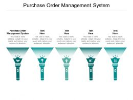 Purchase Order Management System Ppt Powerpoint Presentation File Backgrounds Cpb