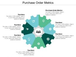 Purchase Order Metrics Ppt Powerpoint Presentation Icon Information Cpb