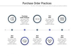 Purchase Order Practices Ppt Powerpoint Presentation File Outfit Cpb