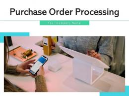 Purchase Order Processing Procurement Department Stationery Manufacturing Ecommerce