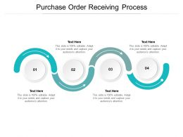 Purchase Order Receiving Process Ppt Powerpoint Presentation Styles Cpb