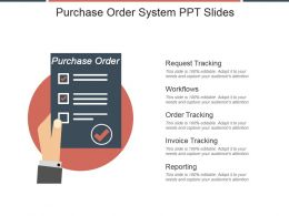 Purchase Order System Ppt Slides