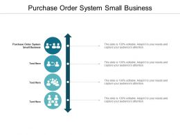 Purchase Order System Small Business Ppt Powerpoint Presentation Portfolio Graphics Template Cpb