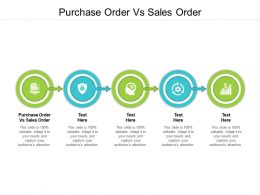 Purchase Order Vs Sales Order Ppt Powerpoint Presentation Portfolio Influencers Cpb