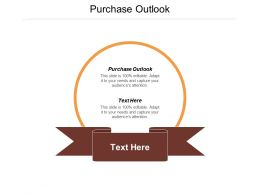 Purchase Outlook Ppt Powerpoint Presentation Professional Background Cpb