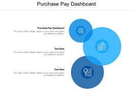Purchase Pay Dashboard Ppt Powerpoint Presentation Icon Inspiration Cpb