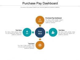Purchase Pay Dashboard Ppt Powerpoint Presentation Slides Graphics Design Cpb