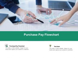 Purchase Pay Flowchart Ppt Powerpoint Presentation Infographics File Formats Cpb