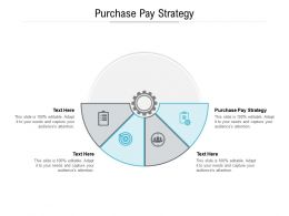 Purchase Pay Strategy Ppt Powerpoint Presentation Ideas Deck Cpb