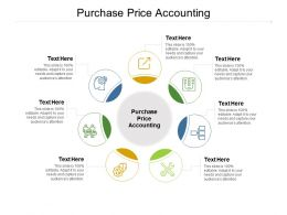 Purchase Price Accounting Ppt Powerpoint Presentation Icon Portrait Cpb