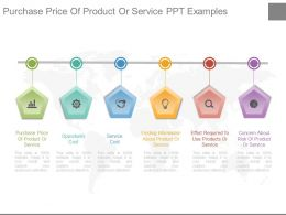 Purchase Price Of Product Or Service Ppt Examples