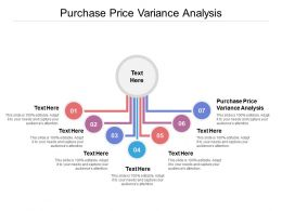 Purchase Price Variance Analysis Ppt Powerpoint Presentation Icon Mockup Cpb