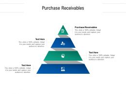 Purchase Receivables Ppt Powerpoint Presentation Inspiration Cpb