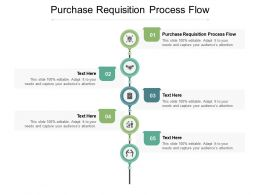 Purchase Requisition Process Flow Ppt Powerpoint Presentation Pictures Templates Cpb