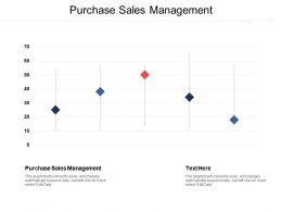 Purchase Sales Management Ppt Powerpoint Presentation Gallery Portfolio Cpb