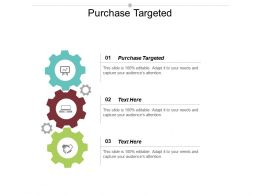 Purchase Targeted Ppt Powerpoint Presentation Gallery Shapes Cpb