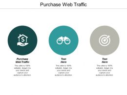 Purchase Web Traffic Ppt Powerpoint Presentation Infographic Template Examples Cpb