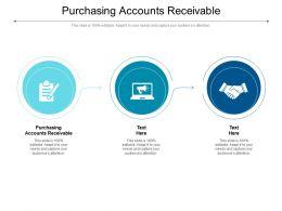 Purchasing Accounts Receivable Ppt Powerpoint Presentation Inspiration Design Ideas Cpb