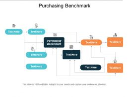 Purchasing Benchmark Ppt Powerpoint Presentation Styles Guidelines Cpb
