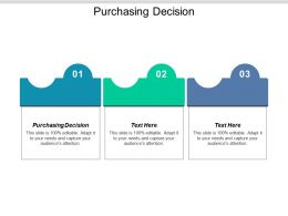 Purchasing Decision Ppt Powerpoint Presentation Icon Slideshow Cpb