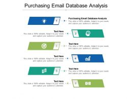 Purchasing Email Database Analysis Ppt Powerpoint Presentation Ideas Guide Cpb