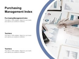 Purchasing Management Index Ppt Powerpoint Presentation Gallery Images Cpb