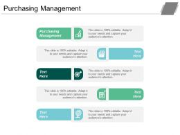 Purchasing Management Ppt Powerpoint Presentation Gallery Slide Download Cpb